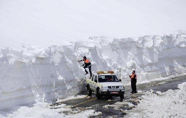 وضعیت برف در بهار سال جاری