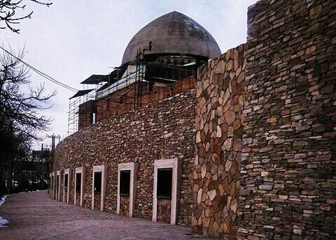 محوطه آدینه مسجد در اردبیل سامان دهی می گردد