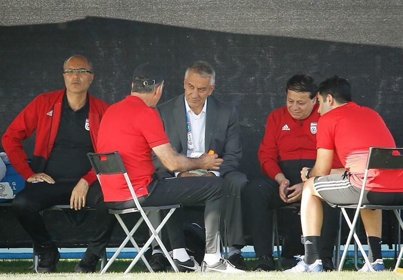 حمیسی از حراست فدراسیون فوتبال جدا شد