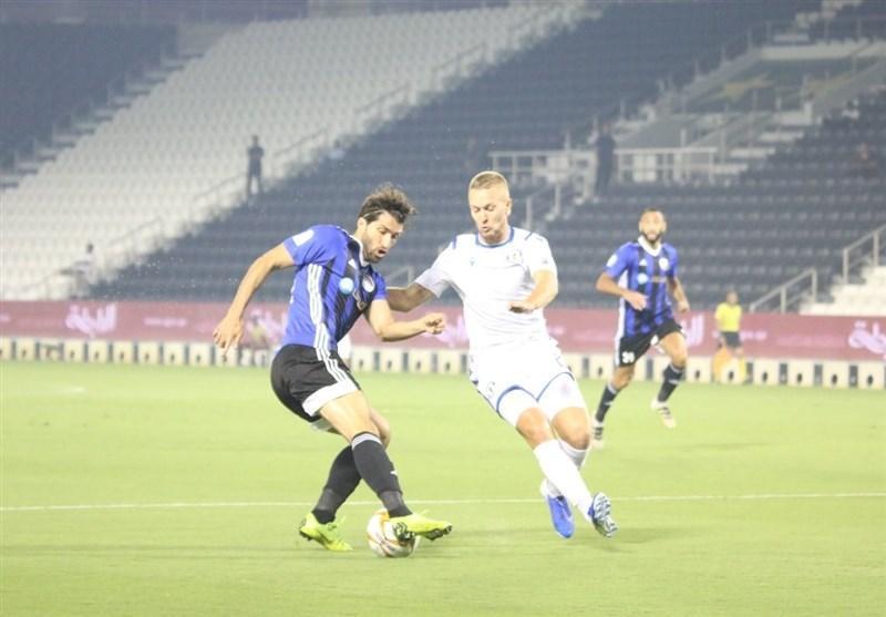 لیگ ستارگان قطر، شکست سنگین تیم انصاری فرد