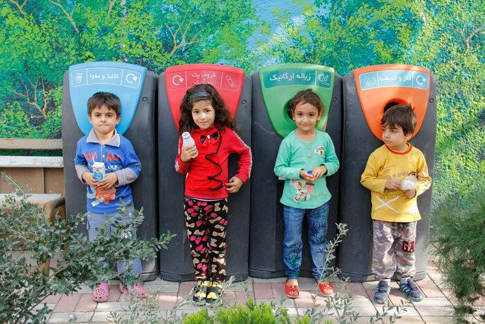 بچه ها، حافظان محیط زیست شهرری
