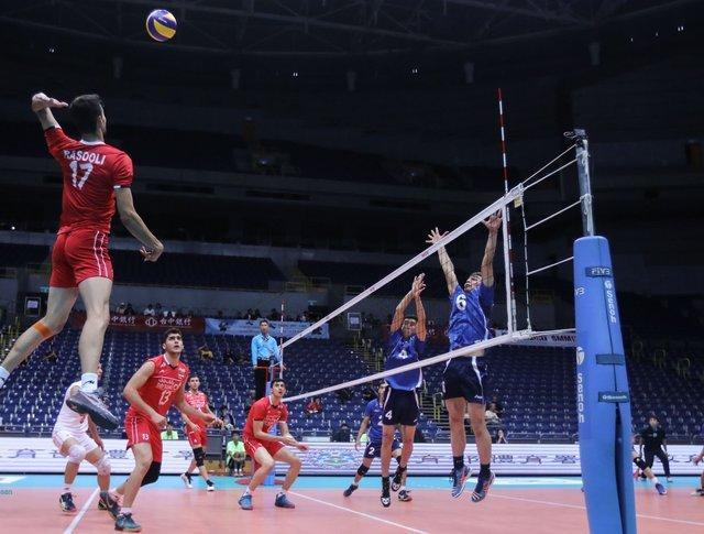 ورود تیم ملی والیبال امیدهای هشت کشور آسیایی به اردبیل