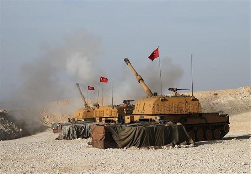 حملات هوایی و توپخانه ای ترکیه به شهر راس العین ، تداوم درگیری ها بین ارتش ترکیه و قسد