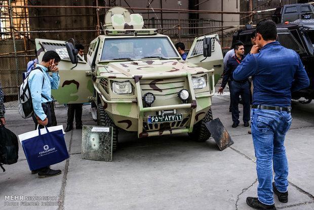 شروع شانزدهمین نمایشگاه تجهیزات پلیسی در محل مصلی تهران
