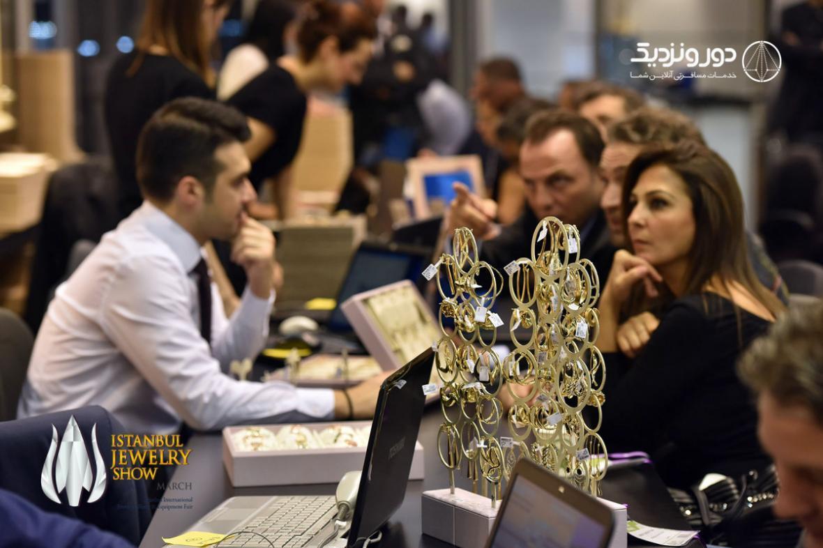 نمایشگاه جواهرات در استانبول