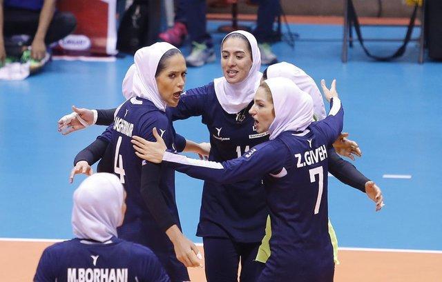 پیروزی با ارزش دختران والیبالیست ایران برابر فیلیپین