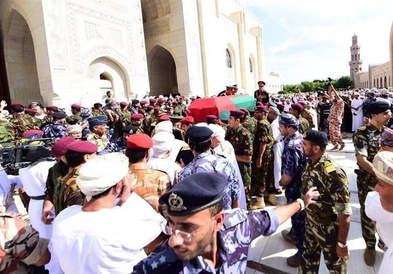 فیلم، مراسم تشییع سلطان قابوس در عمان