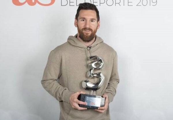 جایزه ای دیگر برای مسی پس از توپ طلای ششم
