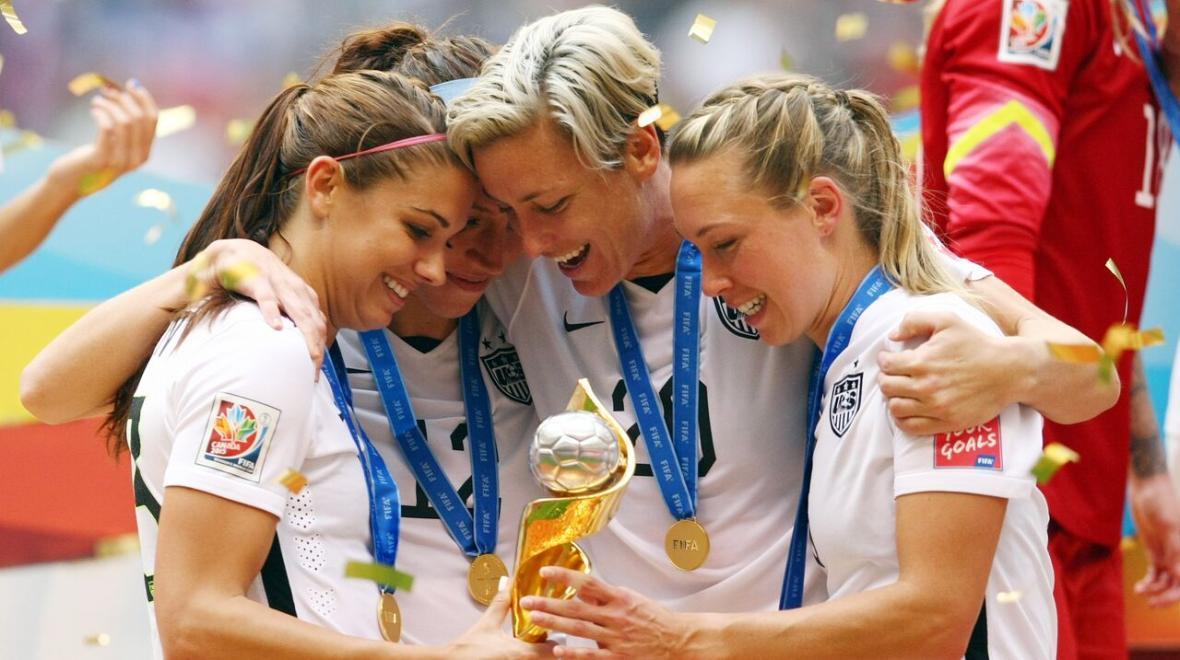آمریکا بر سکوی قهرمانی جام جهانی فوتبال زنان ایستاد