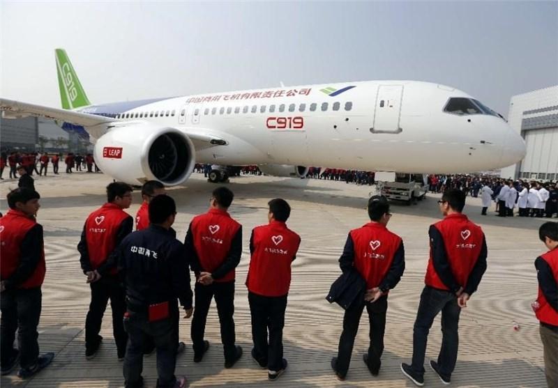 هواپیمای مسافربری چینی نیز روانه بازار شد