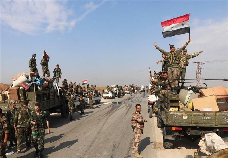 ارتش سوریه معره النعمان در ادلب را از لوث تروریست ها پاکسازی کرد
