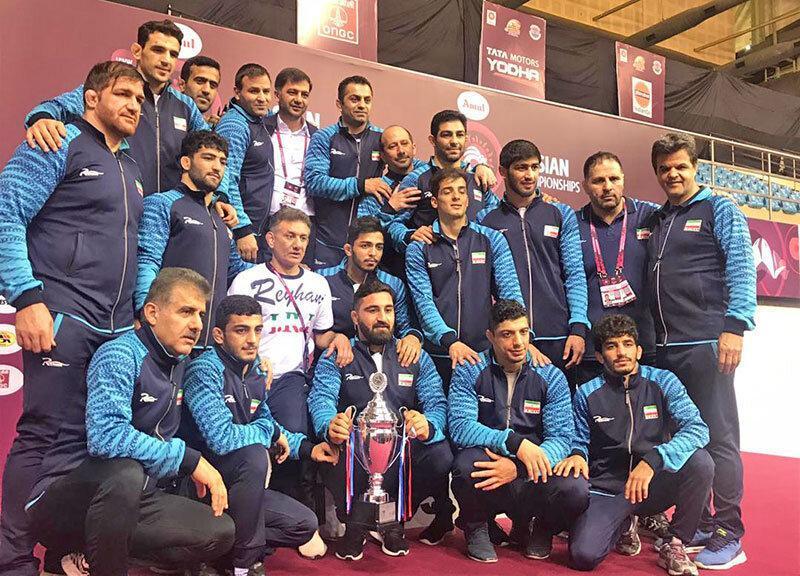 کشتی آزاد قهرمانی آسیا؛ تیم ایران با 8 مدال به عنوان قهرمانی رسید