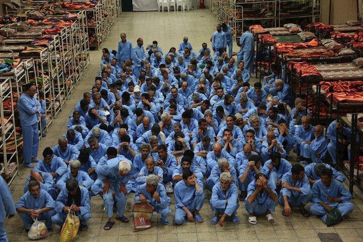600 مددجوی گرمخانه خاوران در انتظار ماسک