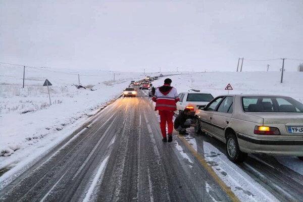 برف و باران بیشتر مناطق کشور را در برمی گیرد ، تهرانی ها شمال نروند