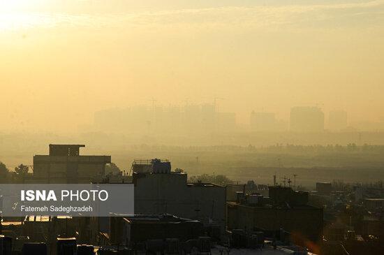 معمای افزایش آلودگی هوای اصفهان در شب ها