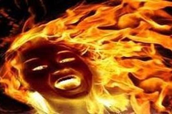 شوهر صیغه ای زن 24 ساله را آتش زد