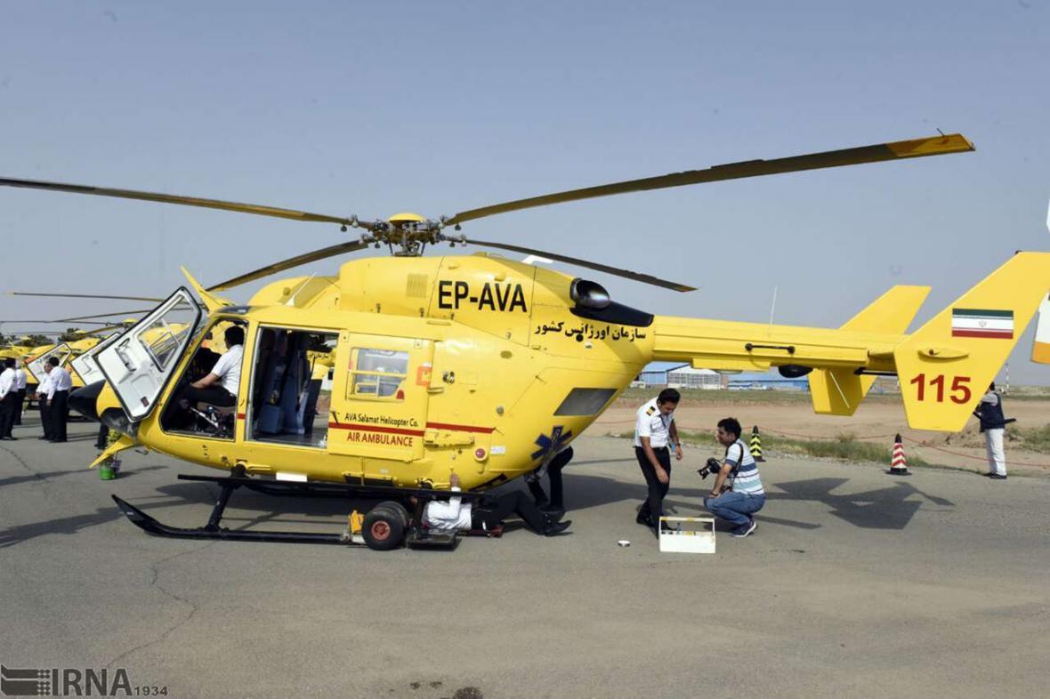 خبرنگاران انتقال قلب اهدایی جوان یزدی به تهران توسط اورژانس هوایی
