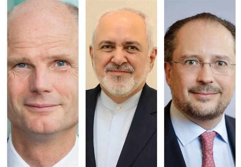 گفتگوی تلفنی ظریف با وزرای خارجه هلند و اتریش