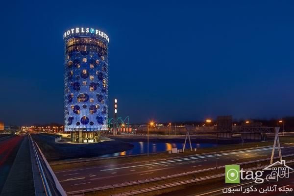 آنالیز دکوراسیون داخلی هتل چهار ستاره در شهر آمستردام
