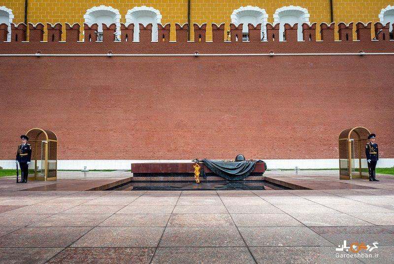 مقبره سرباز گمنام مسکو، یادمان تلخ روسیه، عکس