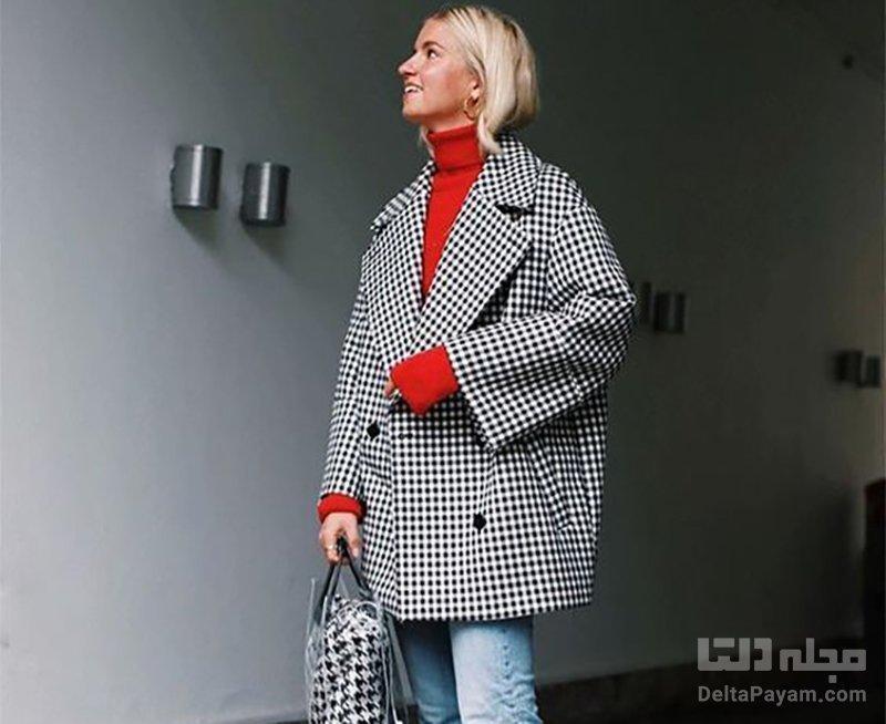 چند روش برای پوشیدن لباس اورسایز خانم ها