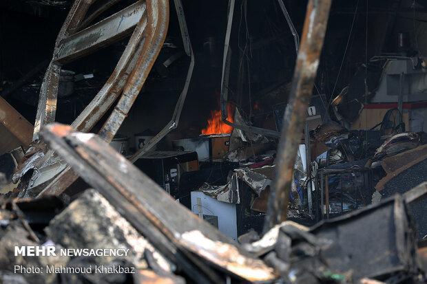 آتش سوزی در کرج 2 کشته و یک مصدوم برجای گذاشت