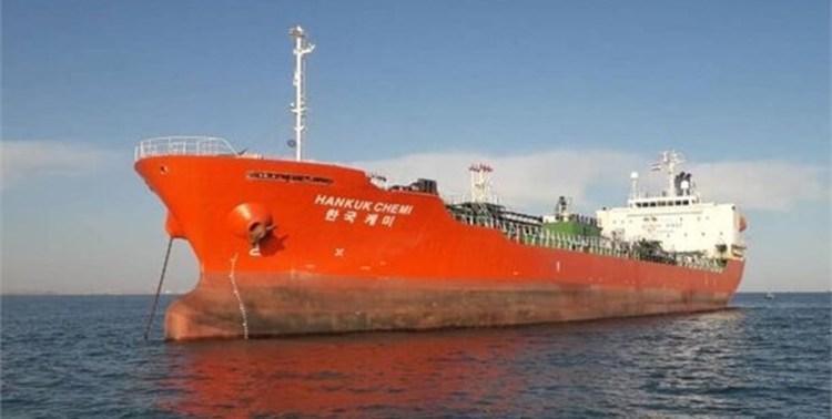 واکنش فرانسه به توقیف نفتکش کره جنوبی