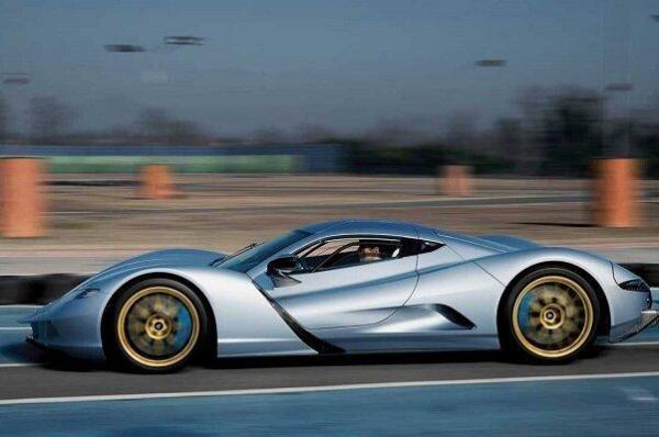 تولید خودروی برقی با شتاب صفر تا صد 1.72 ثانیه