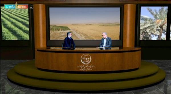 خبرنگاران استودیو آموزش کشاورزی قزوین تا خاتمه سال جاری راه اندازی می گردد