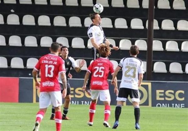 لیگ برتر پرتغال، تساوی تیم مغانلو در خانه حریف قعرنشین