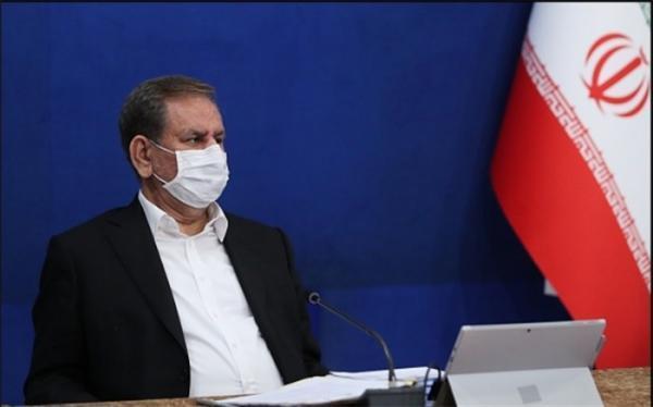 جهانگیری: احیاء دریاچه ارومیه همیشه از اولویت های دولت بوده است