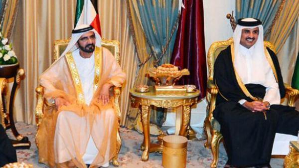 جزئیات نخستین گفتگوی امیر قطر با حاکم دبی پس از آشتی دو کشور امیر