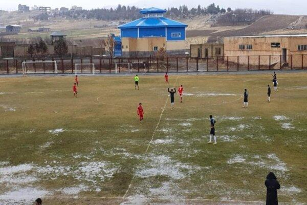 صدرنشین لیگ دسته دوم هم در برابر فوتبالیست های کامیارانی کم آورد