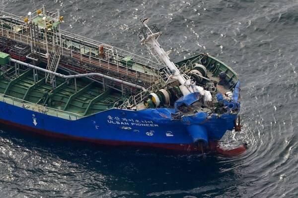 وقوع سانحه دریایی در غرب ژاپن، 3 تن مفقود شدند