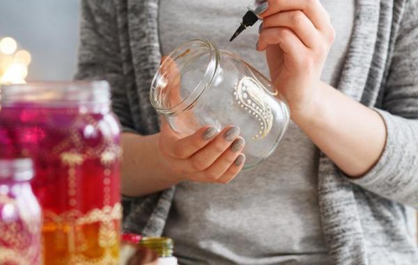 25 ایده خلاقانه برای استفاده مجدد از شیشه های خالی