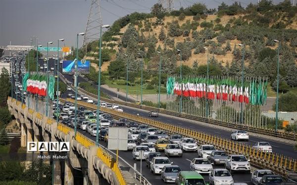 دلیل ترافیک سنگین بزرگراه مدرس و آفریقا چه بود؟