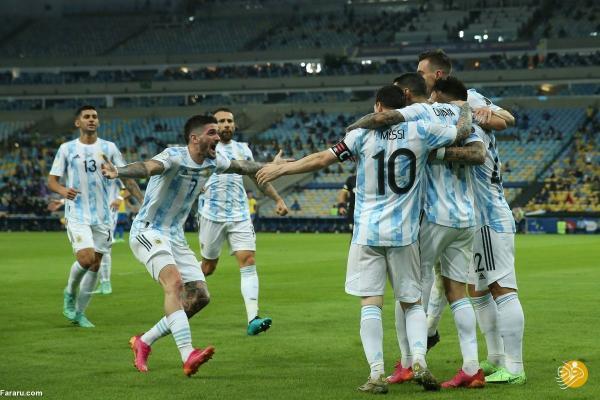 (ویدیو) خلاصه بازی آرژانتین 1 - 0 برزیل؛ قهرمانی مسی