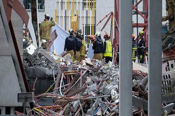 ریزش یک مدرسه در بلژیک 5 کشته برجا گذاشت