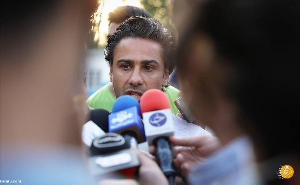 فرهاد مجیدی در تیم وزیر ورزش
