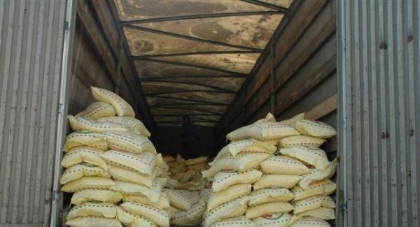 کشف 27 تن برنج غیر بهداشتی در زاهدان