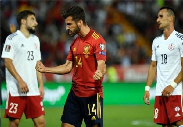 تور ارزان آلمان: انتخابی جام جهانی 2022، جشنواره گل اسپانیا و آلمان، توقف ایتالیا با پنالتی سوخته مرد سال اروپا