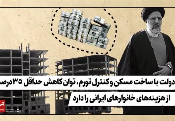 فیلم، دولت با ساخت مسکن و کنترل تورم، توان کاهش حداقل 35درصد از هزینه های خانوارهای ایرانی را دارد